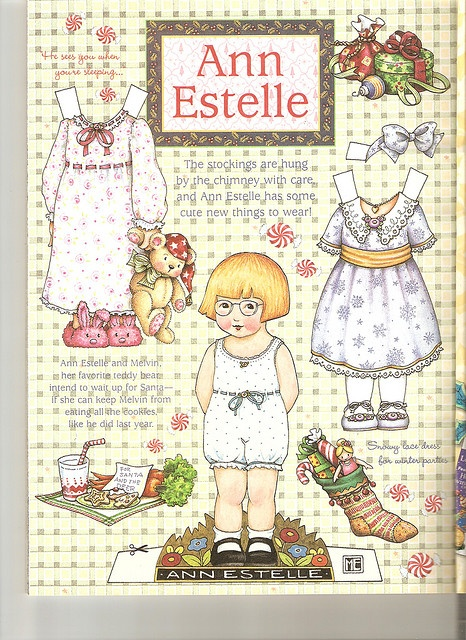 Ann Estelle paper doll 4 by Lagniappe*Too, via Flickr
