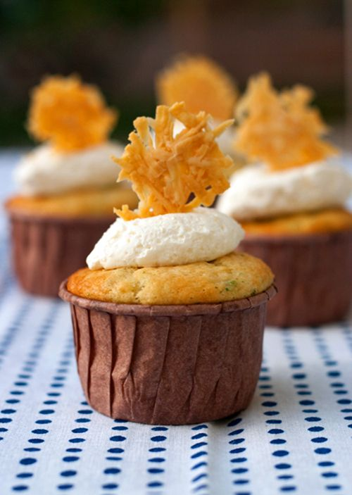 Cream of Broccoli Soup Cupcake. Savory Cupcake - www.redshallotkit...