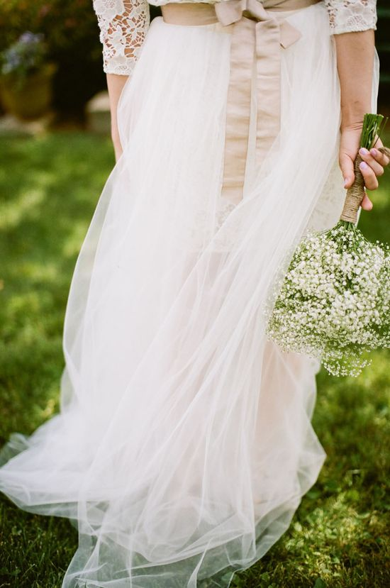 #tulle  Photography: Lily Glass Photography - www.lilyglassphot...  Read More: stylemepretty.com...