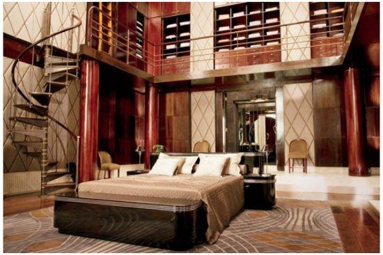 Great Gatsby Amy Vermillion Interiors Blog Set Design via Architectural Digest Art Deco