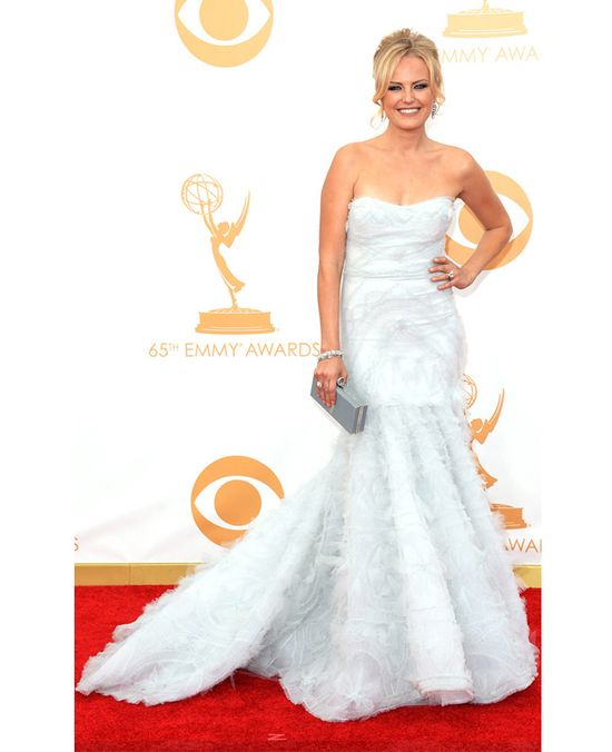 Malin Akerman in Marchesa // 2013 Emmy Awards