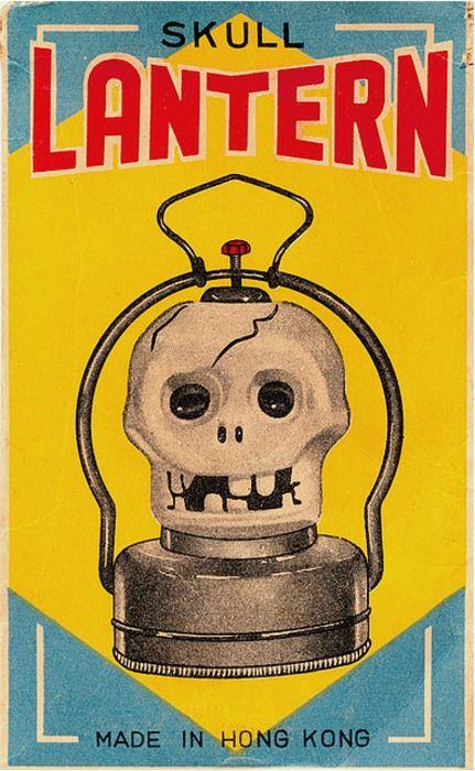 Vintage Halloween Lantern