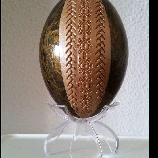 &quot&#x3B;Rugby&quot&#x3B; oeuf d'émeu