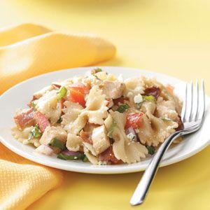 Balsamic Chicken Pasta Salad Recipe