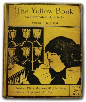 Beardsley cover for The Yellow Book