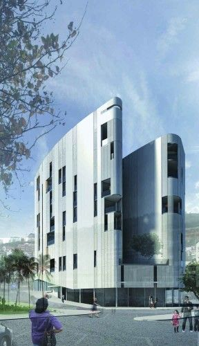 Budva Residential and Business Complex Proposal / AGM