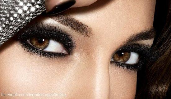 makeup for brown eye