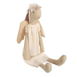 This adorable and whimsical bunny Gloria is a classic children's toy that will be treasured for a lifetime.