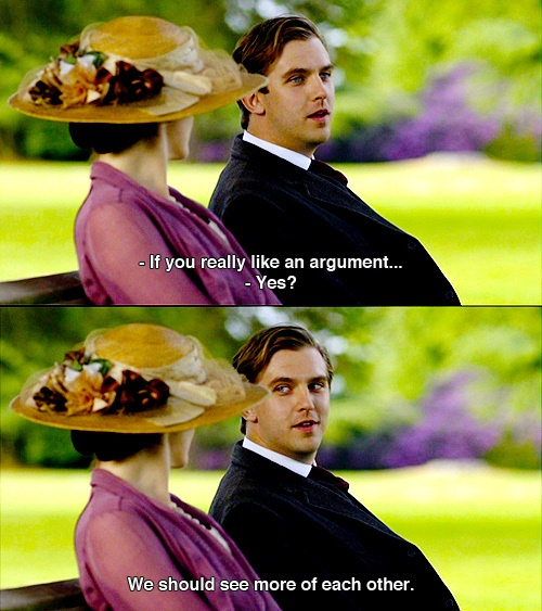 Lady Mary and Matthew?