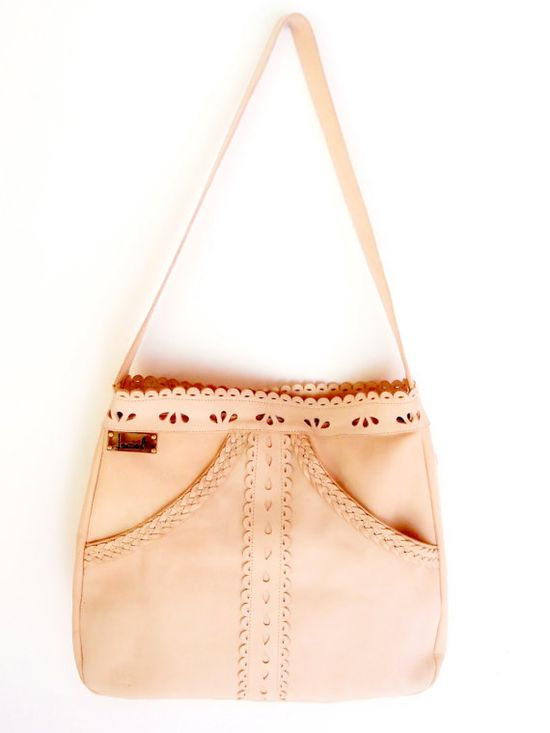 L'AMOUR Beautiful handmade shoulder leather bag / tote by BaliELF, $180.00