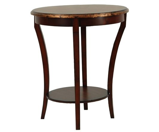 Round Side Table- Home and Garden Design Ideas