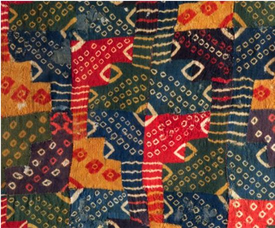 pre-Columbian textile from the Andes
