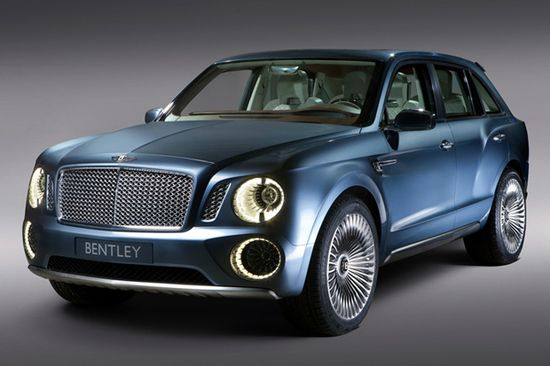 #OMG #Bentley's EXP 9 F Luxury SUV