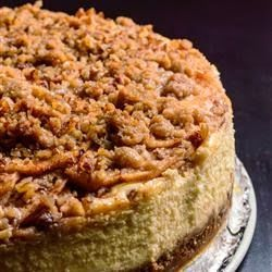 Autumn Cheesecake - This is a delicious Apple Cheesecake that I usually make in the fall.""