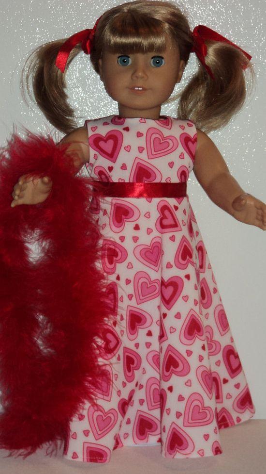 cute v-day dress