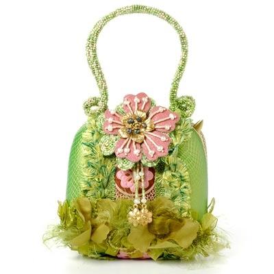 """Mary Frances Handbag - """"Grasshopper"""""""
