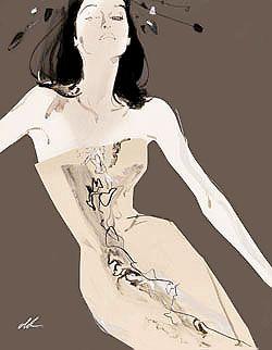 David Downton  Fashion Illustrator