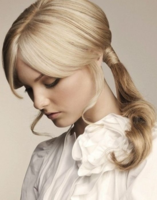 romantic ponytail #ponytail