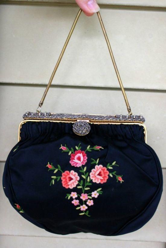 vintage 1950s purse