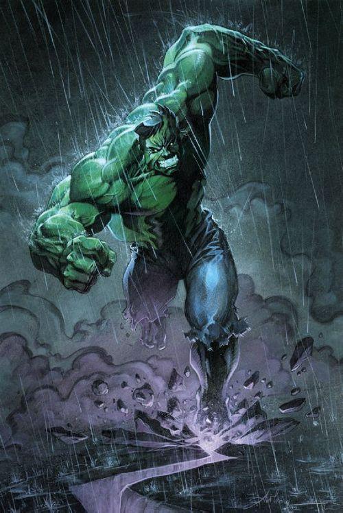 Hulk by Anthony Jean