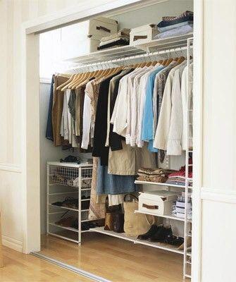 20 Wardrobe Organization Ideas