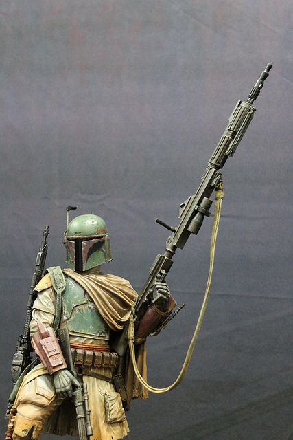 Boba Fett Sniper Rifle cosplay, SDCC 2012, by PatLoika, via Flickr