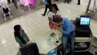 Cashier #Pranks Customers At JC Penny - #funny #ellen
