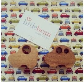 Toy Teether Cars (Pair)