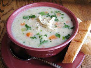 Recipe: Creamy Chicken Soup with Quinoa