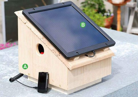 DIY solar charger