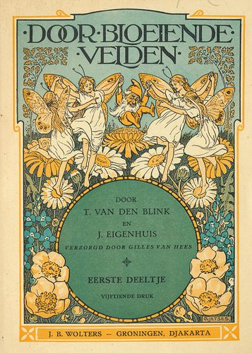 Door Bloeiende Velden [By Flowering Fields]. (book cover)