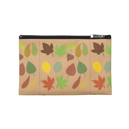 Autumn Leaves Travel Accessory Bag
