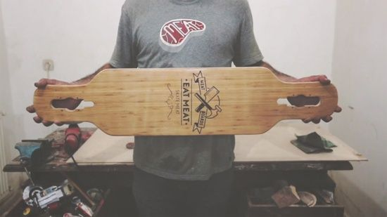 Meat Longboards Handmade