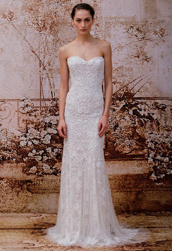 Monique Lhuillier Wedding Dresses Spring 2014/ Violet