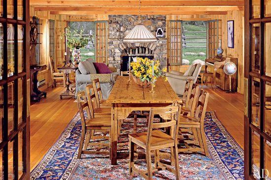 Celebrity dining room