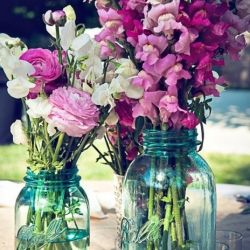 in love with mason jars
