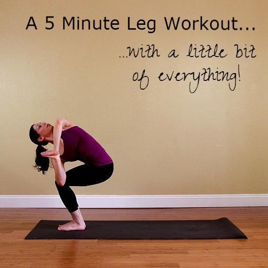 5 minute leg workout