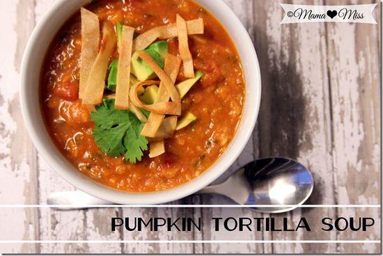 eats: Pumpkin Tortilla Soup