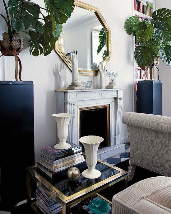Interior Glam with Home Designer in Madrid  Designer: Raul Martins