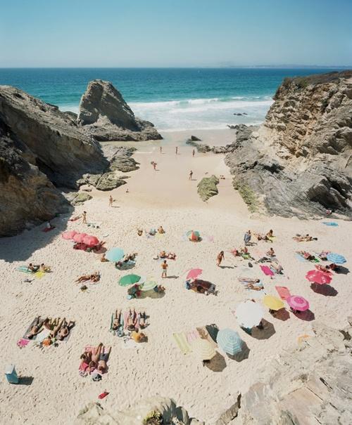 here's to pastel beaches
