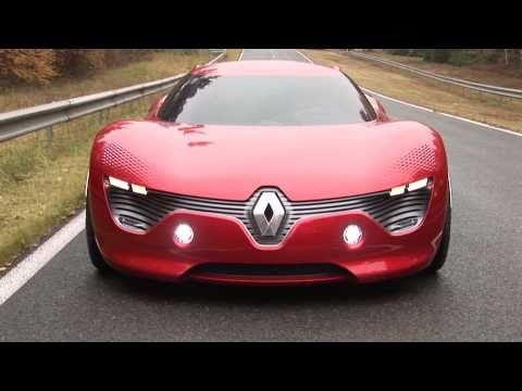 Renault DeZir, future, sports car, vehicle, auto, transportation, futuristic, concept car, automobile, supercar, red, youtube, speed, red car