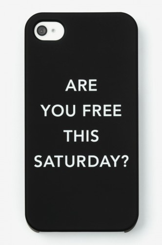 Kate Spade iPhone case - too cute.