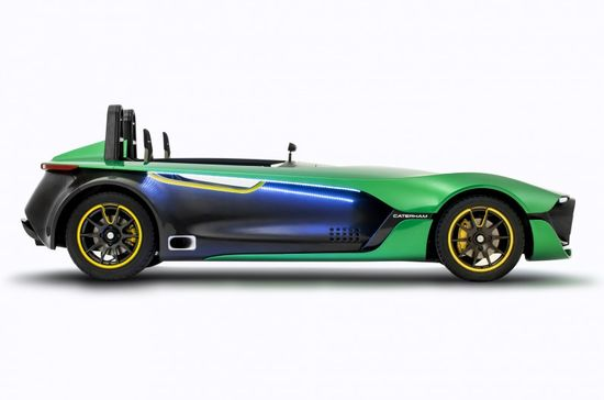 Caterham AeroSeven Concept Debuts, Brand May Add Crossover - Motor Trend WOT