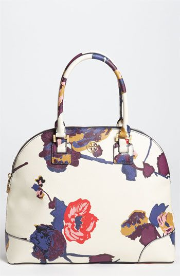Tory Burch 'Robinson - Large' Dome Satchel