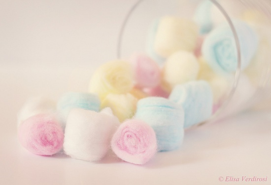 Cotton Candy by Elisa Verdirosi, via Flickr