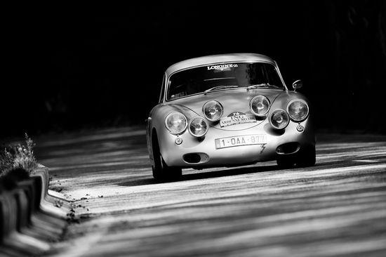 Porsche 356 rally car
