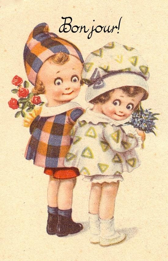 Free Vintage Printable - Sweet Children