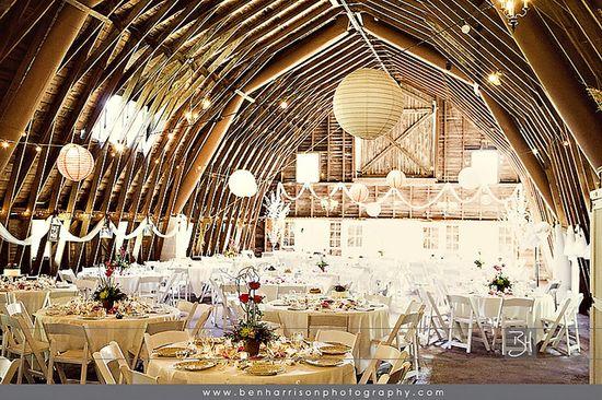 Beautiful Barn Wedding