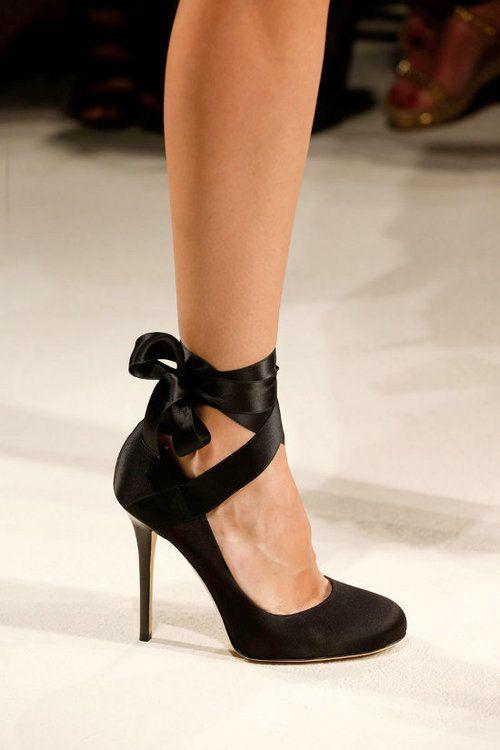 heels like pointe shoes