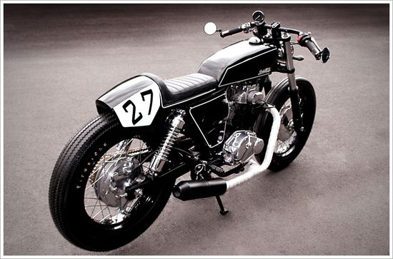 "Studio Motor's Honda CL350 - ""No.27"" - via Pipeburn"